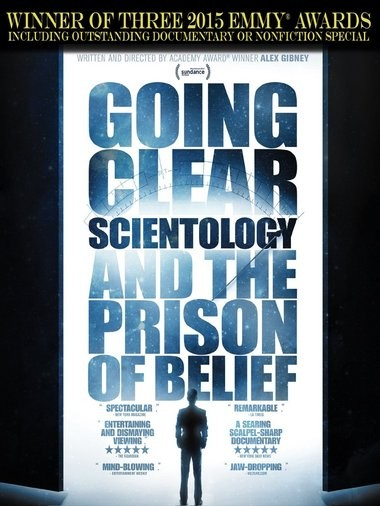 "DVD review of ""Going Clear"" documentary on Scientology."