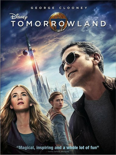"DVD review of ""Tomorrowland"" starring George Clooney."
