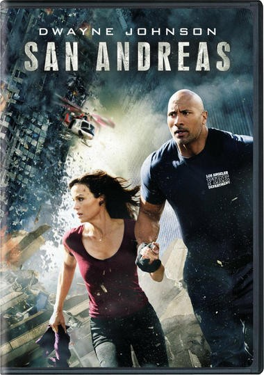 "DVD review of ""San Andreas"" starring Dwayne Johnson."