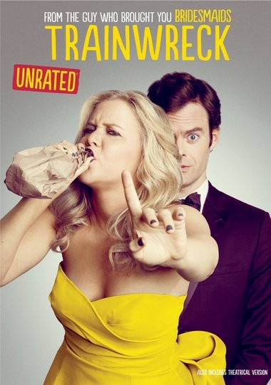 """DVD review of """"Trainwreck"""" starring Amy Schumer."""