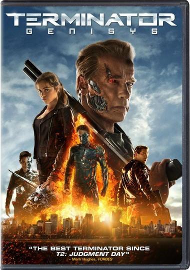 "DVD review of ""Terminator Genisys"" starring Arnold Schwarzenegger"