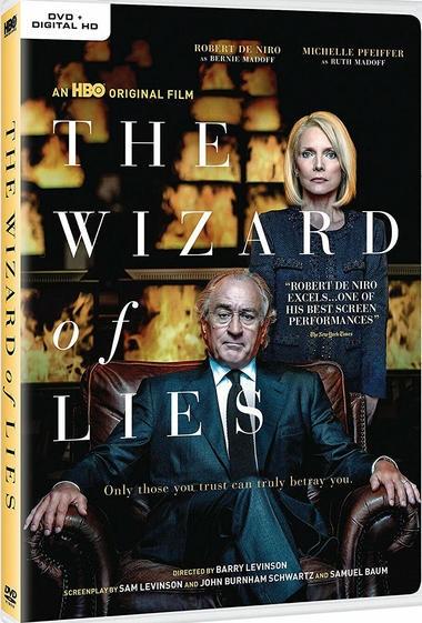 """DVD review of """"The Wizard of Lies"""" starring Robert De Niro."""