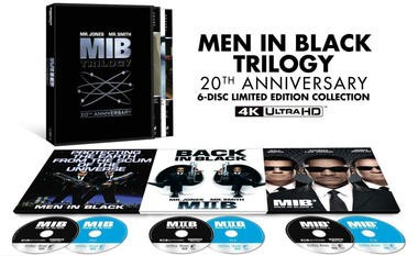 """Blu-ray review of """"Men in Black"""" Trilogy 20th Anniversary 4K Collection"""
