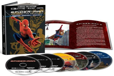 """Blu-ray review of """"Spider-Man"""" Limited Edition Collection"""