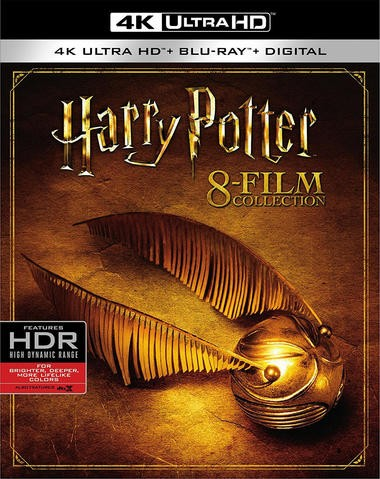 """Blu-ray review of """"Harry Potter"""" 8-Film Collection 4K Ultra HD"""