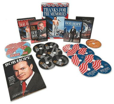 """DVD review of """"Thanks for the Memories: The Bob Hope Specials Deluxe Collection"""""""