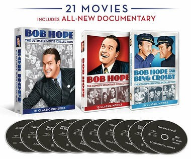DVD review of Bob Hope Ultimate Collection