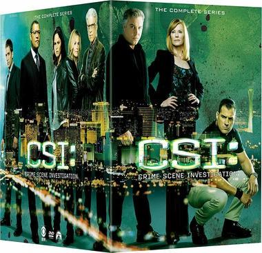 "DVD review of ""CSI: Crime Scene Investigation,"" the complete series."