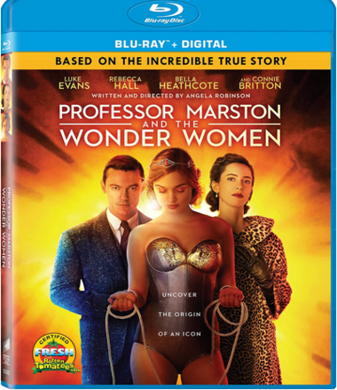 """DVD review of """"Professor Marston and the Wonder Women."""""""