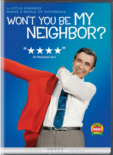 """DVD review of """"Won't You Be My Neighbor?"""""""