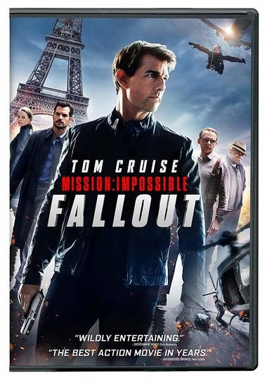 """DVD review of """"Mission: Impossible - Fallout"""" starring Tom Cruise."""