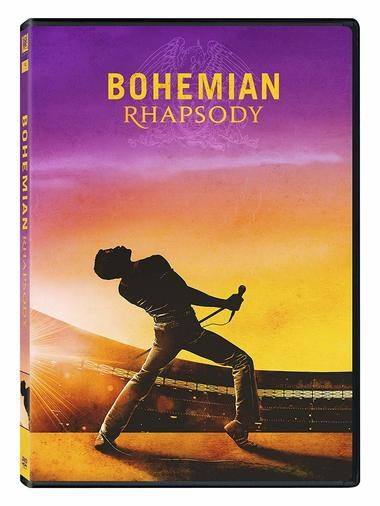 "DVD review of ""Bohemian Rhapsody."""