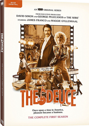 "DVD review of ""The Deuce,"" season one, starring James Franco."