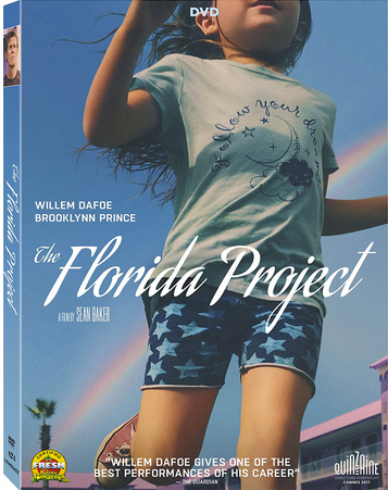 "DVD review of ""The Florida Project"" starring Willem Dafoe."
