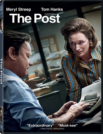 "DVD review of ""The Post"" starring Meryl Streep."
