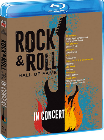 "DVD review of ""Rock and Roll Hall of Fame: In Concert."""