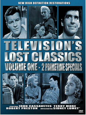 "DVD review of ""Television's Lost Classics,"" Volume One, starring John Cassavetes."