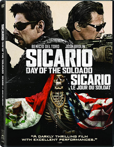 "DVD review of ""Sicario: Day of the Soldad"" starring Josh Brolin."