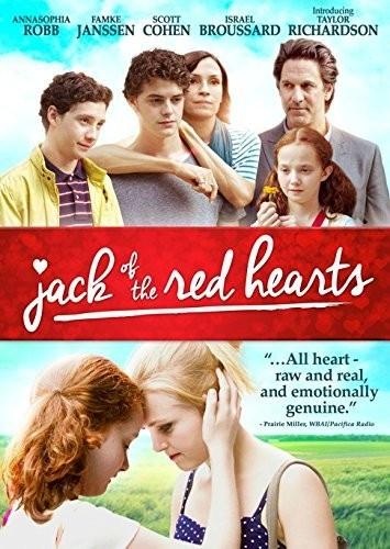 "DVD review of ""Jack of the Red Hearts"" starring AnnaSophia Robb."