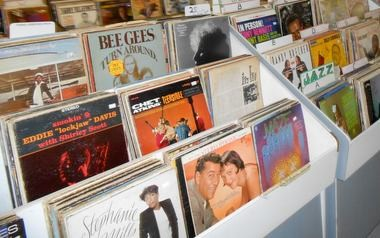Record Revolution no longer carries compact discs, but it does sell a lot of vinyl. Many of the records it sells are used, but it also carries new vinyl releases, primarily reissues of classic albums.