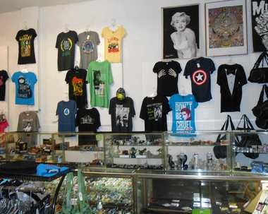 Record Revolution continues to offer clothing, incense, pipes and other products, records still account for about 75 percent of its sales.