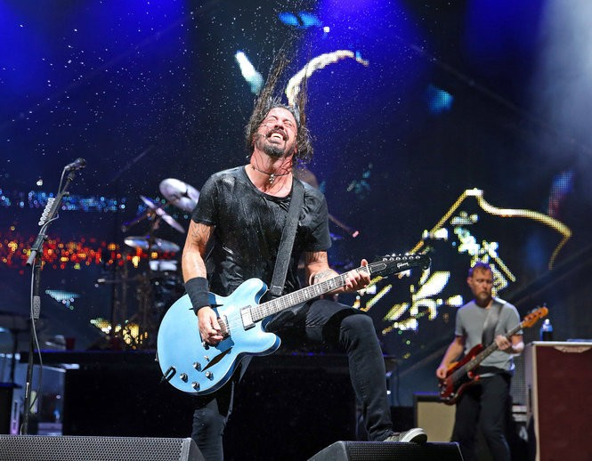 Less than 15 minutes into the Foo Fighters' concert at Blossom Music Center on Wednesday, founder and frontman Dave Grohl was soaked in sweat. Joshua Gunter, Cleveland.com