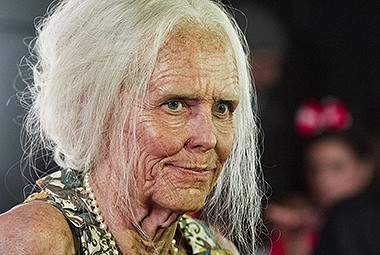 Heidi Klum goes geriatric for Halloween