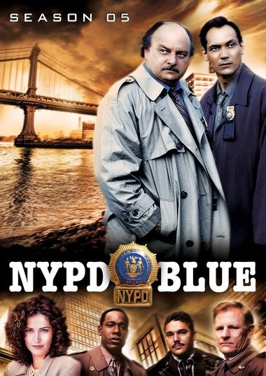 """DVD review of """"NYPD Blue"""" starring Dennis Farina."""