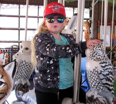 Cleveland Metroparks Zoo's Wildlife Carousel ends daily runs on Sunday. But continues weekends through Dec. 27.