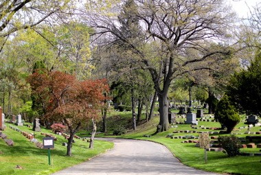 The seventh annual Riverside Cemetery Music Festival is 1-4 p.m. Sunday, featuring the Bluscaster, Larry Patch Quintet and the Steve Ostrow Dixie Jazz Band. Pictured here is a road to the lower part of the cemetery. Food and dessert will be available for purchase from trucks onsite. Rain location for the music festival is just down the street at Archwood United Church of Christ, 2900 Archwood Ave., Cleveland.