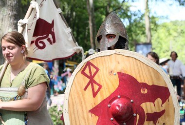 The Great Lakes Medieval Faire and Marketplace.