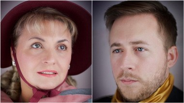 "Soprano Dorota Sobieska and tenor Brian Skoog star in The Cleveland Opera's free production of ""Two Portraits,"" a staging of two Schumann song cycles at various locations through Sunday, Dec. 3."