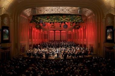 The Cleveland Orchestra's annual Christmas concerts through Saturday, Dec.23 at Severance Hall are a holiday musical tradition in Northeast Ohio. Call for ticket availability.