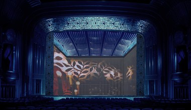 """Rather than a traditional set, the Cleveland Orchestra's upcoming production of Strauss' """"Ariadne Auf Naxos"""" will employ film projections on stage at Severance Hall. Performances are 4 p.m. Sunday, 7 p.m. Thursday, and 8 p.m. Saturday, Jan. 19. For tickets, go to clevelandorchestra.com or call 216-231-1111."""