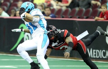 Indoor football: In the early days of Arena Football, players went both ways, playing offense and defense. That's changed, but scoring in the game remains high.