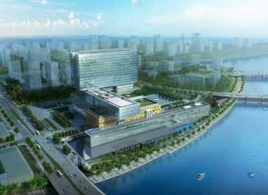 Construction on Cleveland Clinic Abu Dhabi hospital is expected to be completed in 2014.