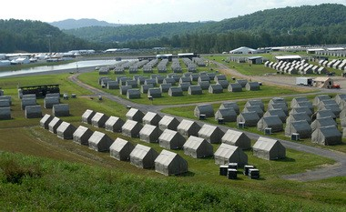 This year's Boy Scout Jamboree is being held at Summit Bechtel Family National Scout Reserve in W.Va. For the first time, Scouts and Scout leaders had to meet health requirements to attend.