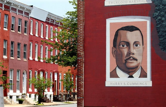 Upton's Marble Hill, one of the city's earliest black middle class neighborhoods, and home to Harry Cummings, the city's first black councilman. (Lisa DeJong)