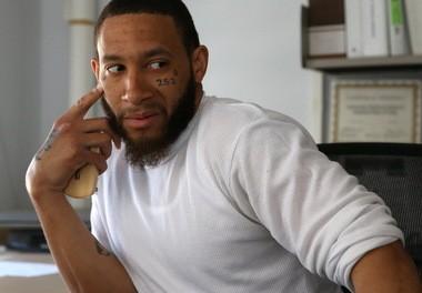 Lamar Anderson talks to Tony Thompson at HHP.