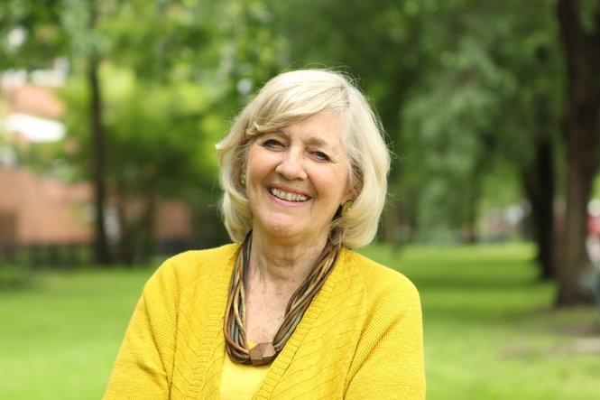 Ellen Goodman of The Conversation Project speaks in Cleveland on Oct. 29.