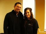 The Miz meets cosmetology student Alissa Moreal of Independence.