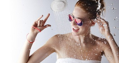 Kohler, the manufacturer of kitchen and bath products, has brought music to the shower with Moxie, its new showerhead with a waterproof speaker.