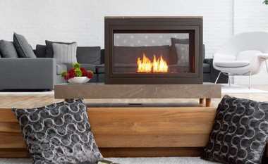 Ventless fireplace