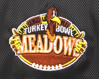 The 26th annual Meadows Turkey Bowl was held Thanksgiving morning, Nov. 26, in the back yard of Mike Meadows' home in Medina.