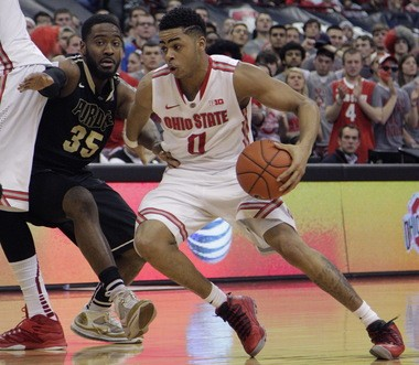 Ohio State's D'Angelo Russell could have stayed in Kentucky and played for a team more equipped to win a national title this year. He decided to go to Ohio State instead.