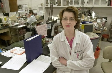 Jennifer Hanrahan, infectious disease specialist at MetroHealth Medical Center in Cleveland.