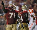 Florida State's Menelik Watson is a project but has immense potential.