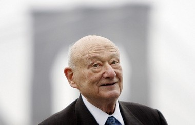 "Former New York Mayor Ed Koch, in 2010, is the subject of the documentary ""Koch."""