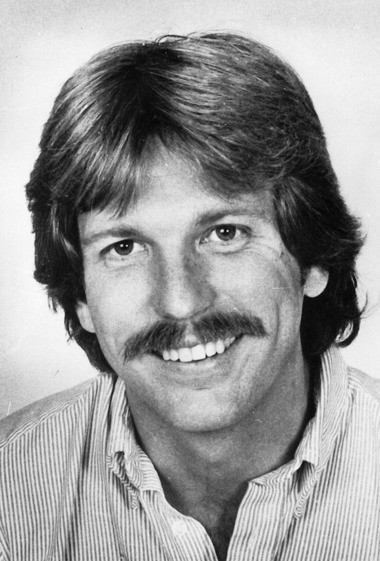 Gary Webb's staff photo when he worked at The Plain Dealer in the 1980s.