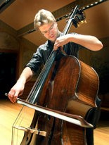 Cleveland Orchestra bass player Derek Zadinsky demonstrates his artistry by playing the Gigue from Bach's Cello Suite No. 4.